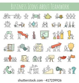 1000 Business Icon Set Hand Drawn Stock Images Photos Vectors