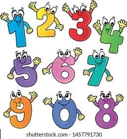 Numbers Clipart Images Stock Photos Vectors Shutterstock