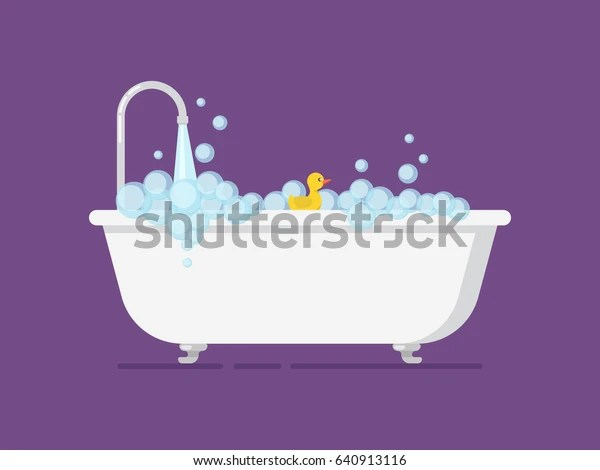 https www shutterstock com fr image vector cartoon tub full foam open tap 640913116