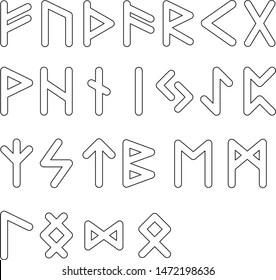 Elder Futhark Runes Images Stock Photos Vectors Shutterstock