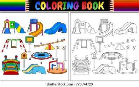 playground coloring pages # 16