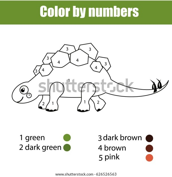 stegosaurus coloring page # 56