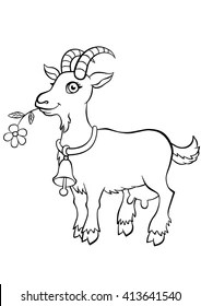 Goat Colouring Images Stock Photos Vectors Shutterstock