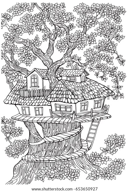 coloring pages of houses # 14