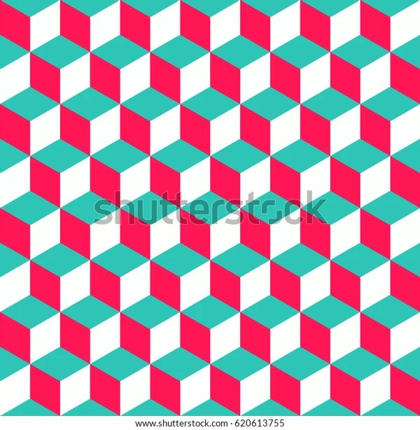 https www shutterstock com fr image vector completely seamless abstract cube pattern colorful 620613755