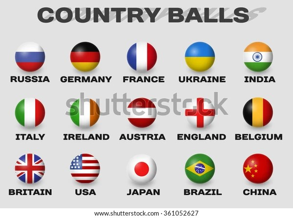 If Real Flags Were Affected By Countryballs Brazil France