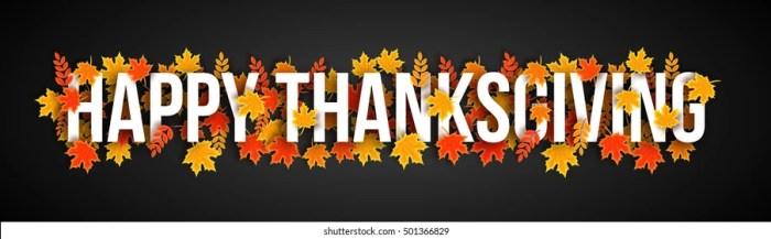 Thanksgiving Header Images, Stock Photos & Vectors | Shutterstock