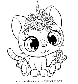 Cute Colouring Pages Images Stock Photos Vectors Shutterstock