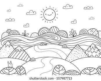 free coloring pages froggy learns to swim # 78