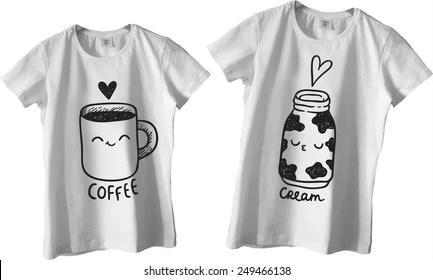 Couple Shirt Images Stock Photos Amp Vectors Shutterstock