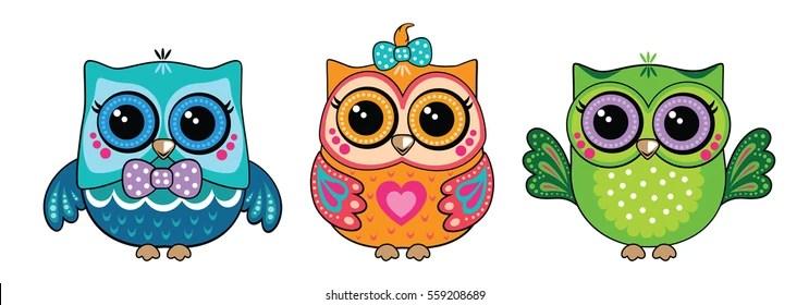 Image of: Barn Owl Cute Owl Shutterstock Cute Owl Images Stock Photos Vectors Shutterstock
