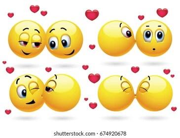 Download 205 Best Smiley Kissing - Duper