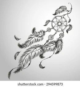 Dream Catcher Drawing Images Stock Photos Vectors Shutterstock