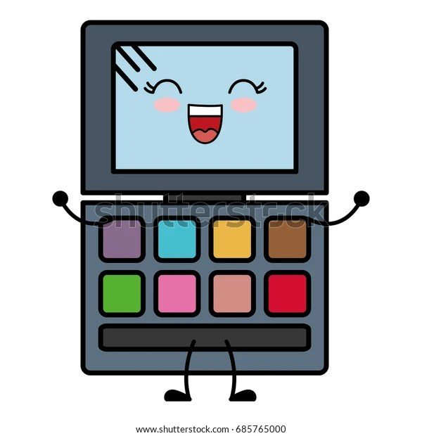 eye shadows palette icon