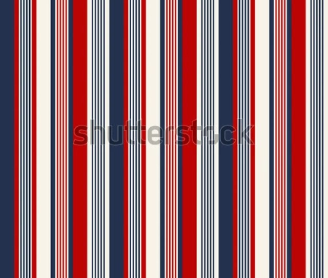 Fabric Retro Color Style Seamless Stripes Pattern Abstract Vector Background