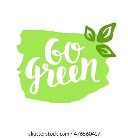 Go Green Logo Images Stock Photos Vectors Shutterstock