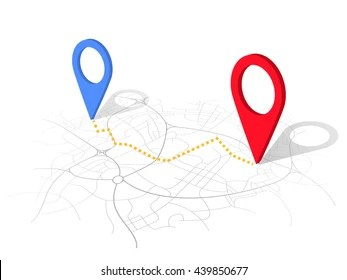 Navigation Map Images  Stock Photos   Vectors  10  Off    Shutterstock GPS map navigation with pointers isolated on white background  vector 3d  design