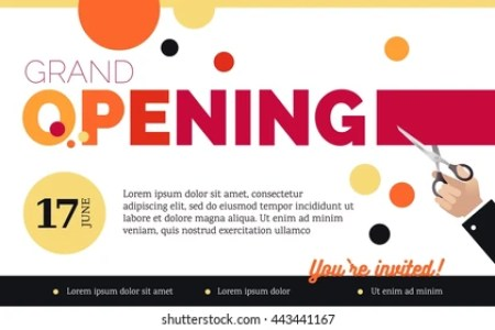 New invitation cards for shop opening best of grand opening inauguration invitationswedd org invitation card for office opening ceremony invitationjpg com open invitation images stock photos vectors shutterstock stopboris Gallery