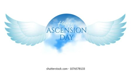 Ascension Of The Lord Images  Stock Photos   Vectors   Shutterstock Greeting card or banner to Ascension day of Jesus Christ  Catholics and  Anglican Christians Religious