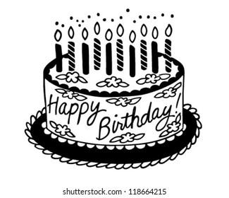 Birthday Cake Clip Art Images Stock Photos Vectors Shutterstock