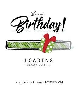 Birthday Loading Images Stock Photos Vectors Shutterstock