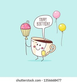 Happy Birthday Coffee Card Images Stock Photos Vectors Shutterstock