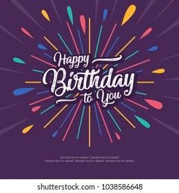 Happy Birthday Cartoon Images Stock Photos Vectors Shutterstock