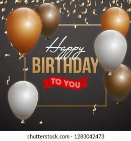 Happy Birthday Men Images Stock Photos Vectors Shutterstock