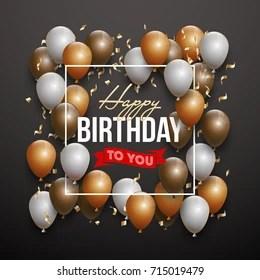 Black Man Birthday Images Stock Photos Vectors Shutterstock