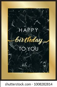 https www shutterstock com image vector happy birthday you luxury greeting card 1008282814