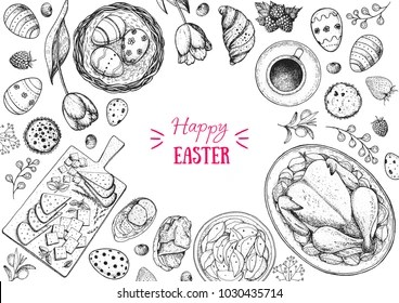 Family Easter Day Stock Illustrations Images Vectors Shutterstock