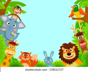 Kids Animals Images Stock Photos Vectors Shutterstock