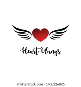 Heart With Wings Images Stock Photos Vectors Shutterstock