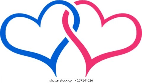 Download Linked Hearts Images, Stock Photos & Vectors   Shutterstock
