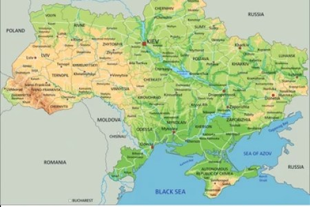 russia physical map labeled russia russian blue russia » [HD Images ...