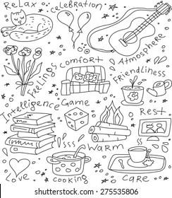 Happy Life Doodle Images Stock Photos Vectors Shutterstock