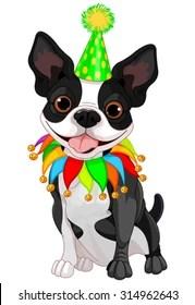 Birthday Boston Terrier Images Stock Photos Vectors Shutterstock