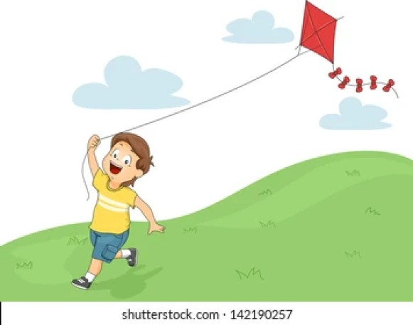 Cartoon Kite Flying High Res Stock Images | Shutterstock