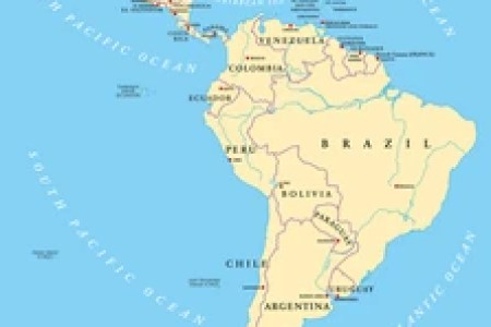 map of south america with countries and capitals » Free Interior ...