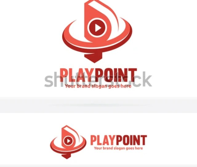 Letter P With Video Play Button Icon Letter P Video Logo Letter P Play