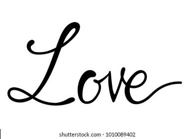 Download Cursive Love Images, Stock Photos & Vectors | Shutterstock