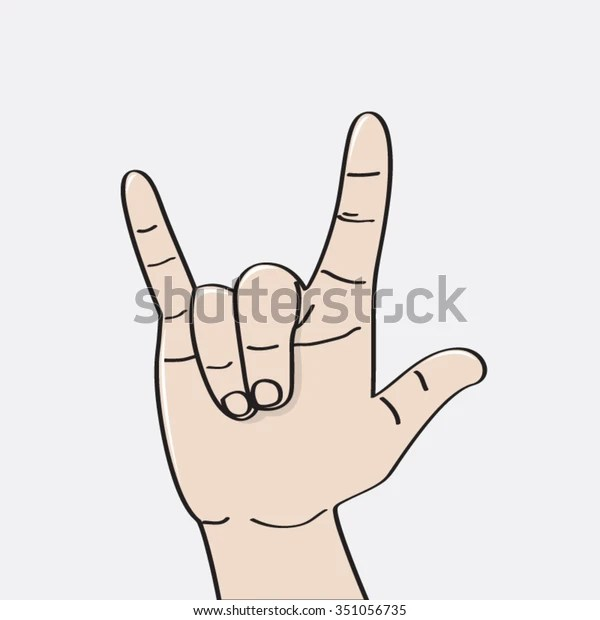 Download Love You Language Hand Sign Icon Stock Vector (Royalty ...