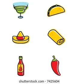 Mexican Food Clip Art Images Stock Photos Vectors Shutterstock