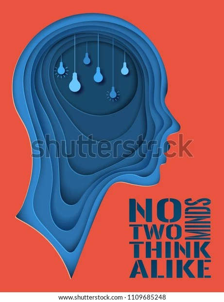 https www shutterstock com image vector modern poster layered cut out colored 1109685248