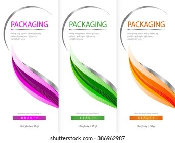 Packaging Design Template Images Stock Photos Vectors