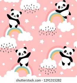 Kawaii Panda Hd Stock Images Shutterstock
