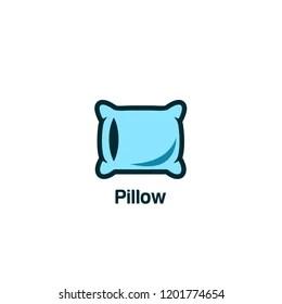 https www shutterstock com image vector pillow logo icon designs vector 1201774654