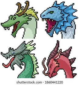 Pixel Dragon High Res Stock Images Shutterstock