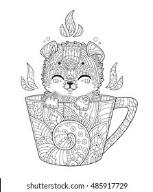 Puppy Adult Coloring Pages Images Stock Photos Vectors Shutterstock