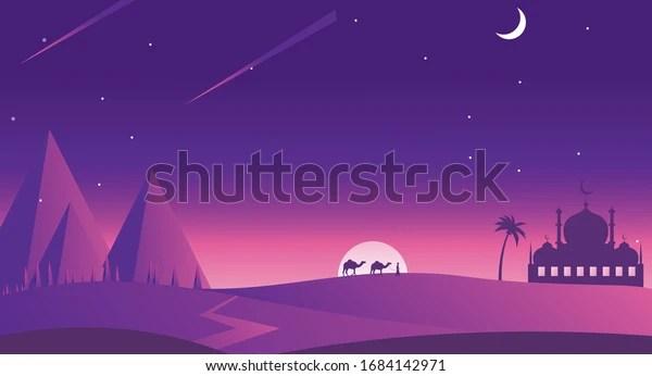 Ramadan Kareem Eid Mubarak Background Vector Stock Vector Royalty